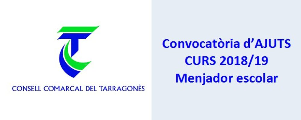 Beques Consell Comarcal CURS 2018/19
